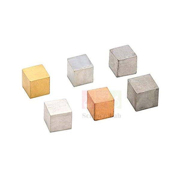 Metal Density Cubes (Set of 6)